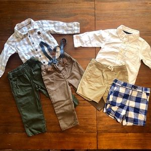 Carters Boy 18M Shirt & Pants Bundle
